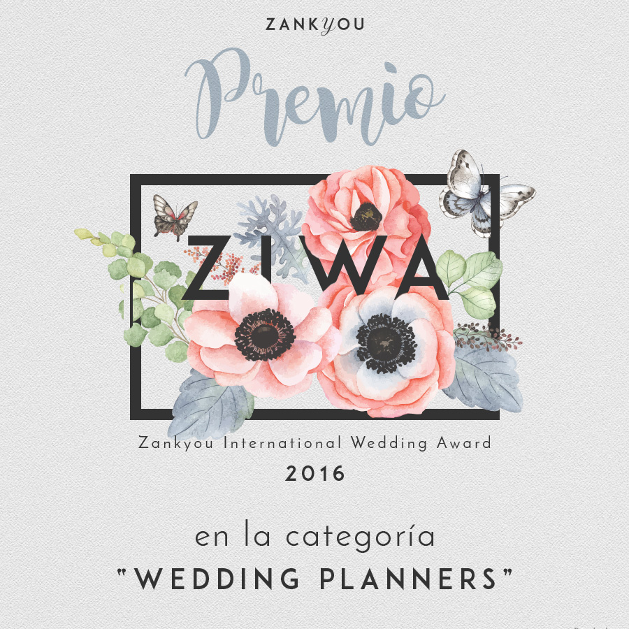 zankyou, zankyou colombia, recomendado zankyou, zankyou weddings, ziwa2016, zankyou international wedding awards, wedding planner, bodas de lujo, luxury wedding, premio bodas, ganador ziwa2016